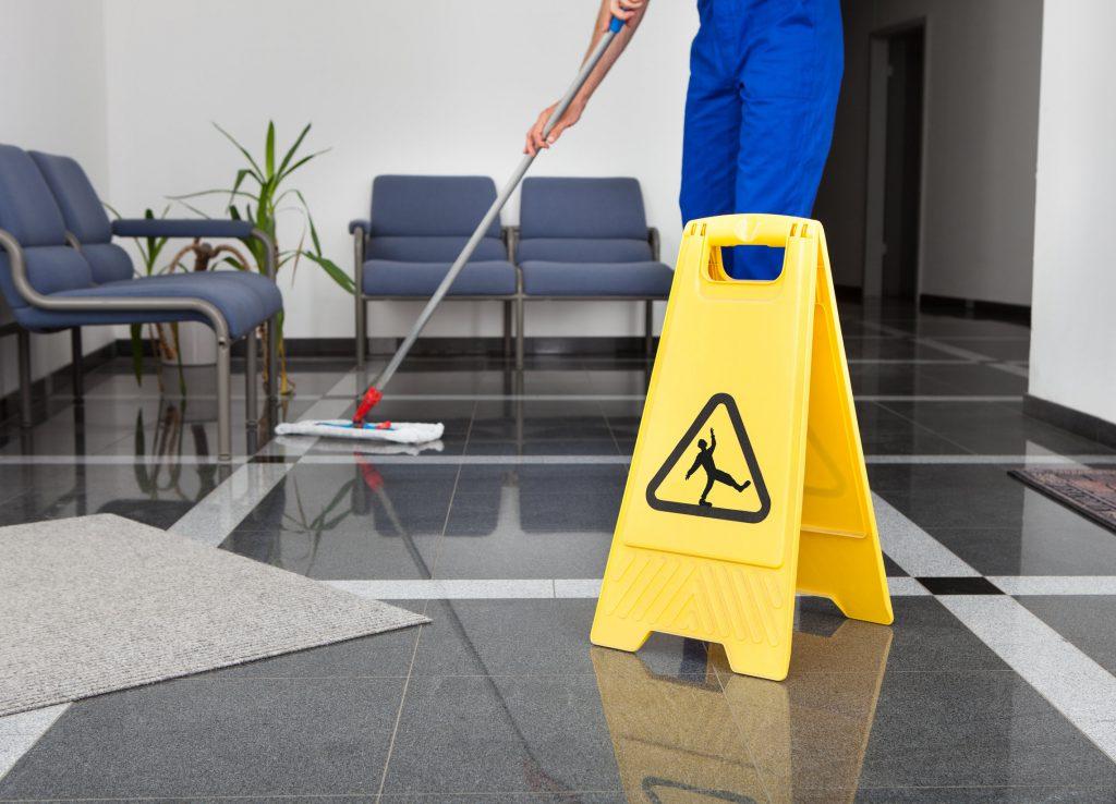 Rengøring af gulv