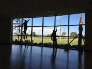 Billede af vinduespudsere